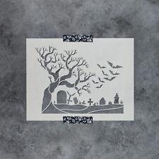 Graveyard Stencil - Durable & Reusable Mylar Stencils