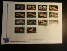 *Shells* First Day Cover from Cook Islands (#381-94). Great Topical!