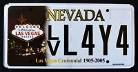 "NEVADA ""100 YEARS LAS VEGAS - CENTENNIAL "" NV Specialty Specialty License Plate"