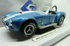 VOITURE SHELBY COBRA BLEUE SOLIDO ECHELLE 1/18