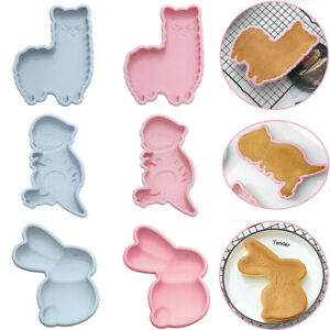 Cake Jelly Cookies Soap Mold Chocolate Baking Mould Tray Wax Ice Cube Decorating