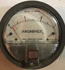 dwyer magnehelic differential pressure gauge 15 Lb 140 F 2003C