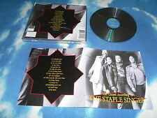 THE STAPLE SINGERS - THE GOSPEL ACCORDING TO  UK CD ALBUM (1999)