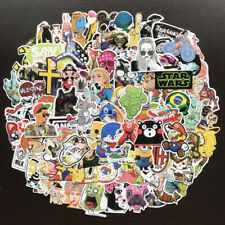 100 Skateboard Sticker Bomb For Luggage Laptop Car Vinyl Graffiti Decal Dope Lot