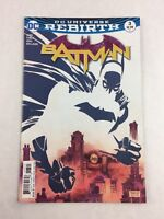 Batman Comic Book #3 Sep 2016 - DC Universe Rebirth
