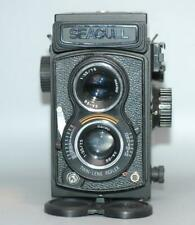 Seagull 4B-1 medium format Twin-lens camera w 75mm f3.5 lens - Cla'd Nice Mint-!