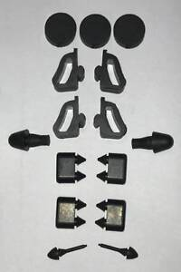 1978-87 El Camino & GMC Caballero Rubber Stopper Kit With Correct Hood Bumpers