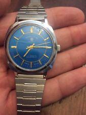 Rare Vintage Favre Leuba Geneve Swiss Made Watch Gents Mens Wristwatch