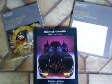 Seven BONHAMS & BUTTERFIELDS, and two CHRISTIE'S Movie Memorabilia Catalogs,nm-m