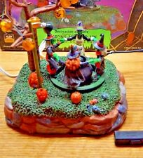 LEMAX SPOOKY TOWN TABLE ACCENT COOKING UP A GHOUL LIGHT ANIMATED + BOX HALLOWEEN