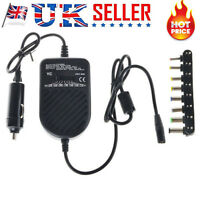 Universal Laptop Auto Car Charger Adapter 12V 80W For DELL HP TOSHIBA SONY ACER