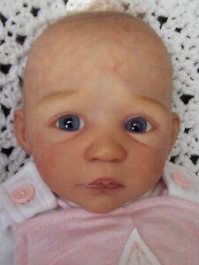 Sweet Reborn Baby Doll MOIRA PROTOTYPE by HEIKE KOLPIN + Lenka Polacek Hucinova
