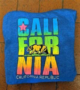 KID'S UNISEX CALIFORNIA CALI-FOR-NIA REPUBLIC HOODIE SIZE SMALL ~ SUPER CLEAN