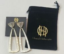 $115 House of Harlow 1960, Mesa Door Knocker Earrings Rachel Zoe Box of Style