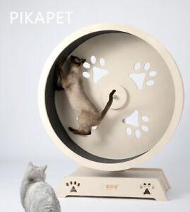 NEW HONEYPOT CAT Solid Wood Cat Climbing Running Silent Treadmill Small AU STOCK