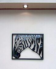 Unusual Zebra Wall Art Hand Made Metal Zebra Wall Plaque Metal Zebra Wall Art