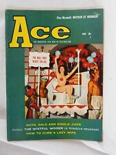 June, 1958 Ace, The Magazine For Men of Distinction, Pinups Sexy Marylin Monroe