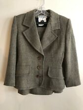 Genuine Vintage Givenchy Nouvelle Boutique 100% Wool Tweed Women's Skirt Suit