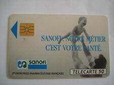 PHONECARD TELECARTE ENTREPRISE SANOFI MEDICAMENT