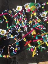 Parrot and Bird Toys - Good Assortment X100