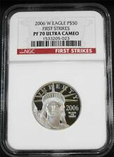 2006-W $50 1/2 .9995 Proof Platinum Eagle NGC PF 70 UC First Strikes - POP 31