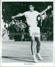 1960's Earl Buchholz Professional Tennis Star Original News Service Photo