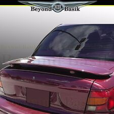1996-1999 Saturn SL Custom Style Rear Trunk Spoiler Wing Tail Fin UNPAINTED