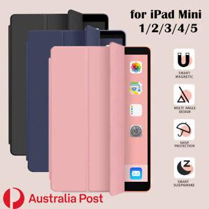 Smart Cover iPad Case for Apple iPad mini  1 2 3 4 5   7.9''
