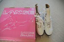women's vintage Lange 9 N Aaa width R Libra Sr ice figure skates
