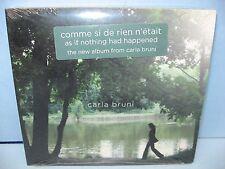 COMME SI DE RIEN N'ETAIT,Carla Bruni, Naive/Downtown, New