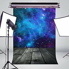 5X7FT Fantasy Starry Sky Photo Background Photography Backdrop Studio Props