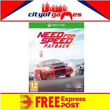 Need for Speed Payback Xbox One Game New & Sealed Free Express Post In Stock