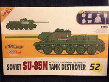 1/35 Soviet SU-85M Tank Destroyer w/equipment  * NEW * CyberHobby (Orange) #9152