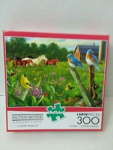Buffalo Games - Hautman Brothers - Country Meadow - 300 Large Piece Jigsaw