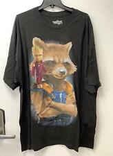 Marvel Guardians of the Galaxy Vol 2 Men's T-Shirt, Groot and Rocket, Black