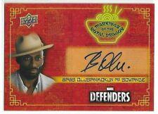 Babs Olusanmokun Sowande 2018 Upper Deck The Defenders Auto Autograph #RD-BO