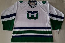 NHL Hartford Whalers 1979-1985 CCM Team Classics White Hockey Jersey Men's SMALL