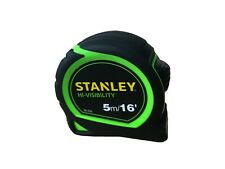 Stanley 5m (16ft) Alta Visibilidad Cinta Métrica