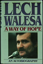 "Lech Walesa Signed ""A Way of Hope"" Book (PSA/DNA)"