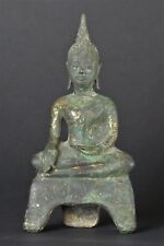 Antique Ayuthaya 17th. Century Bronze Buddha.