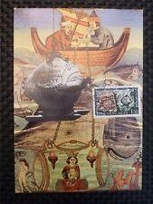 MONACO MK 1962 SUBMARINE UBOAT DIVER MAXIMUMKARTE CARTE MAXIMUM CARD MC CM 9763
