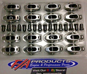"""Elgin SSR-2889RS Small Block Ford 1.6 Ratio 3/8"""" Stainless Steel Rocker Arm Kit"""
