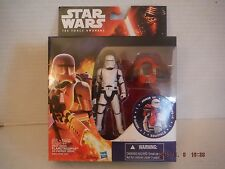 "Star Wars The Force Awakens First Order Flametrooper  3.75"" Action Figure NIB"