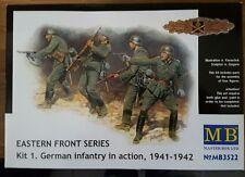 MB Masterbox German Infantry German Infantry model kit 1:35 NIP set