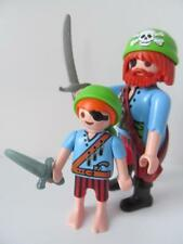 Playmobil Pirate crew/ships extra figures: Father & son NEW