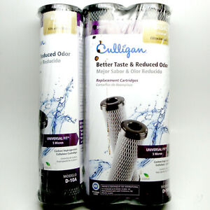 NEW 3 Pack CULLIGAN D-10A BETTER TASTE & REDUCED ODOR WATER FILTER 5 MICRON