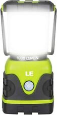 LE Outdoor LED Camping Lantern, 1000lm, Dimmable, Battery Powered, Water Resista