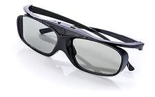 Aktive 3D-Brille Black Heaven für EPSON SONY JVC FullHD HDR Beamer | shutter