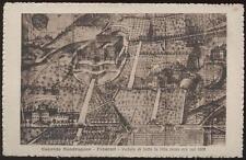 cartolina FRASCATI convitto mondragone-veduta della villa come era nel 1600