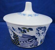 Figgjo Scandinavian Turi-Design Lotte Mini Sugar Bowl w Lid -Made In Norway